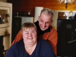 Petra und Jockel <p>Beide Gründungsmitglieder der Allgäuer Trikerbande.<br />Aber immer gern gesehen und sehr geschätzt.</p>